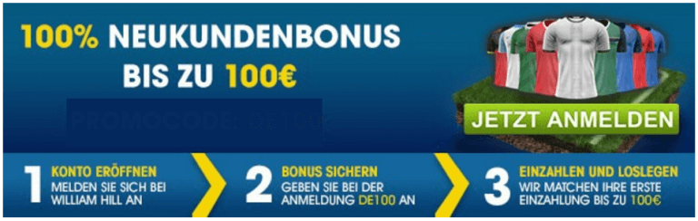 William-Hill-Neukundenbonus